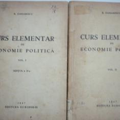 Curs Elementar de Economie Politica - B. Zaharescu - Curs marketing