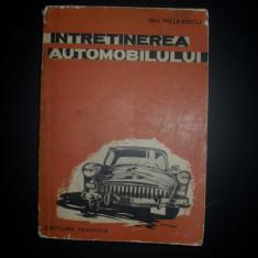 Gheorghe Pitulescu Intretinerea automobilului - Carti auto
