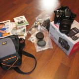 DSLR Canon, Kit (cu obiectiv) - Canon 350D ca nou kit complet cutie folosit ocazional