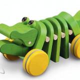 Figurina Animale Plan Toys - Jucarie Crocodilul dansator