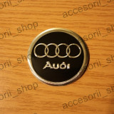 Embleme auto - Emblema capac roata AUDI 60 mm