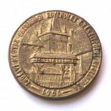 UNGARIA ROMANIA MEDALIE EXPOZITIE ASOCIATIE ARDEAL POARTA SECUIASCA 1941 43 mm * - Medalii Romania