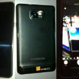 Telefon mobil Samsung Galaxy S2, Negru, 16GB - Galaxy S2 cu Jelly Bean + card 8 GB