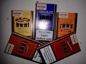 Trabucuri Handelsgold - Ciocolata, Vanilie, Piersica, Cirese, Clasic foto