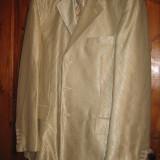Costum barbati, 3 nasturi, Marime sacou: 48, Normal, Crem, 48 sau mai mare - COSTUM MIRE SUPER PRET SI PRODUS CADOU