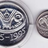 BNR 10+100 lei 1995 argint 27, 5 grame, 925%, FAO, in cutie+certificat autenticitate - Moneda Romania