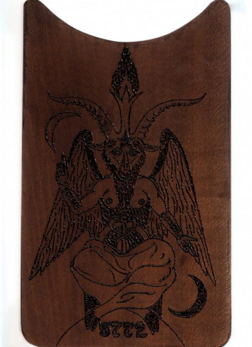 PLACHETA ESOTERICA (MASONI, TEMPLIERI) - BAPHOMET (BAFOMET) foto mare