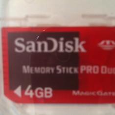 Card memorie SanDisk pro duo Magic Gate 4gb, Mini SD