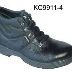 Bocanci Piele Wink -KC 9911 - Bocanci barbati Wink, Marime: 42, Culoare: Negru
