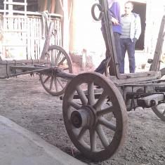 Accesorii gradina - Roti de lemn decorative