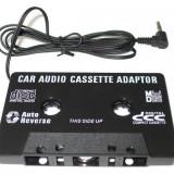 CASETA ADAPTOARE PENTRU CASETOFON MP3, DVD, TELEFON, IPOD - Modulator FM auto