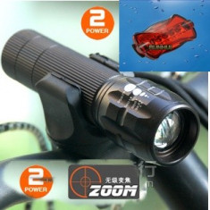 Lanterna Zoom METAL BICICLETA