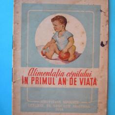 Carte Retete pentru bebelusi - (VAND-SCHIMB) ALIMENTATIA COPILULUI IN PRIMUL AN DE VIATA