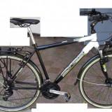 Bicicleta de oras, Curbat(Risebar), Aliaje de aluminiu, Cu amortizor, Baieti - Vand bicicleta Cyco cityline - germania