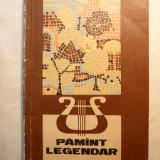 Culegere de Cantece Pionieresti - Pamant Legendar -partituri 1970