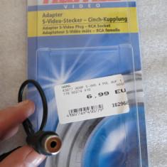 CS159 Adaptor de la S-Video tata la RCA mama vezi foto Hama Video