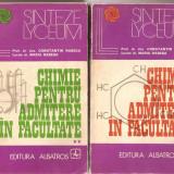 Teste admitere facultate - (C1662) CHIMIE PENTRU ADMITERE IN FACULTATE DE CONSTANTIN SI MARIA RABEGA, EDITURA ALBATROS, BUCURESTI, 1973; 2 VOLUME