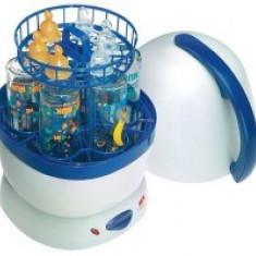 Sterilizator electric NUK 2 in 1 - Sterilizator Biberon NUK, Cu aburi
