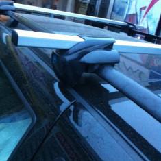 Bare Auto transversale - Bare transversale cu cheita antifurt universale din alu cu prindere pe barele longitudinale