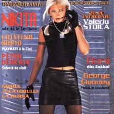 Reviste XXX - REVISTA PLAYBOY NR 10 DIN OCTOMBRIE 2000 (NIKITA)