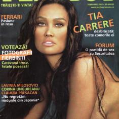 Reviste XXX - REVISTA PLAYBOY DIN FEBRUARIE 2003 (TIA CARRERE)