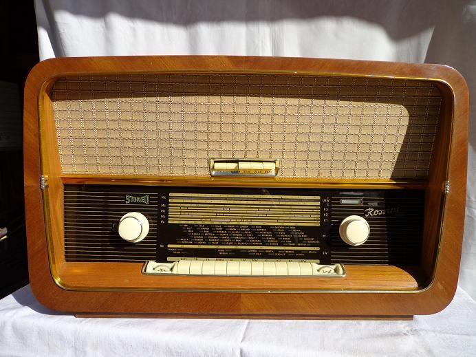 Radio cu lampi stereo ROSSINI foto mare