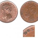 Monede Romania - * Lot 2 monede 1 ban 1900 - diferite