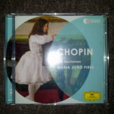 Chopin: The Nocturnes - Maria Joao Pires (2 CD) - Muzica Dance universal records