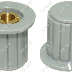 Buton plastic, gri-7006