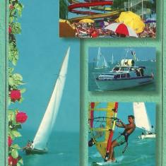 Carti Postale Romania dupa 1918, Circulata, Fotografie - NGL: Romania MAREA NEAGRA Colaj Anii 90 Carte Postala Color Circulata Carti Postale Vechi CP