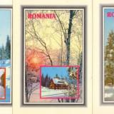 CP - Ilustrate Romania - Peisaje - Lot 4 buc. / Necirculate / F316, Necirculata, Printata, Romania de la 1950