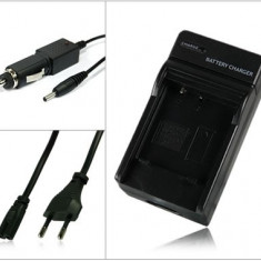 Incarcator acumulator Pentax D-Li92 + adaptor auto (12V) Pentax Optio X70 | RZ10 | RZ18 | I-10 | WG-1 GPS | WG-1 | WG-2 - Incarcator Aparat Foto