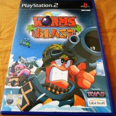 Joc Worms Blast PS2, original, 19.99 lei(gamestore)! Alte sute de jocuri! - Jocuri PS2 Ubisoft, Actiune, 3+, Single player