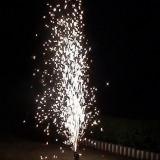 artificii (vulcani) pentru iesirea din biserica/intrare sala