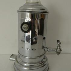 Metal/Fonta - SAMOVAR ELECTRIC NICHELAT, VECHI