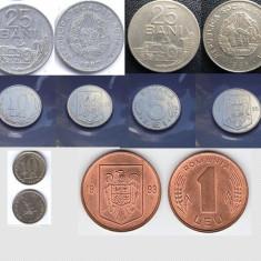 MONEDE VECHI ROMANESTI 34 BUCATI - Moneda Romania