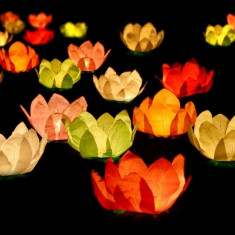 Set 6 lampioane plutitoare - Decoratiuni nunta
