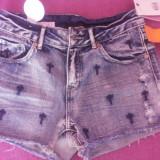 Pantaloni scurti - Pantaloni dama, Marime: 34, Culoare: Albastru, Albastru