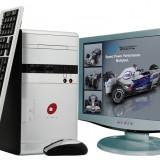 Sisteme desktop cu monitor, Intel Celeron, 1 GB, 40-99 GB, LG, 17 inch - Computere Sistem Desktop Cu Monitor