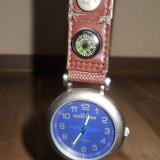 Ceas timex expedition de buzunar - Ceas barbatesc Timex, Quartz, Inox, Material textil, Analog