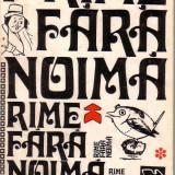Edward Lear-Rime fara noima-tiraj 1700 exemplare - Carte Literatura Engleza Altele