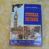 Carte tehnica - Itinerar britanic Nicolae Plopeanu