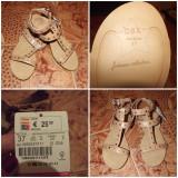 Sandale Bershka nou-noute!! - Sandale dama, Marime: 37, Culoare: Crem, Crem