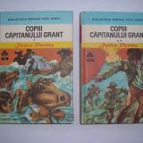 Carte poezie copii - Jules Vernes COPII CAPITANULUI GRANT{2 VOLUME, CARTONATE}, RF3/1
