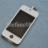 LCD Retina Display iPhone 4 alb + Touchscreen Original - Display LCD, iPhone 4/4S