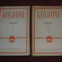 CARLO GOLDONI - TEATRU (VOL.I-II) - Carte Cinematografie