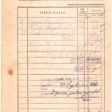 LIBRARIA EMINESCU CRAIOVA -FACTURA 1939 - Pasaport/Document