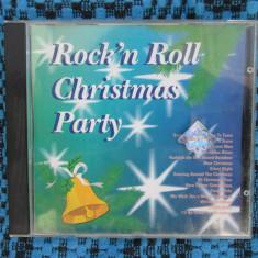 ROCK'N ROLL CHRISTMAS PARTY - 1 CD cu 15 melodii clasice de CRACIUN, in limba engleza (JINGLE BELLS, LET IT SNOW, SILENT NIGHT etc!!!!) - Muzica Sarbatori