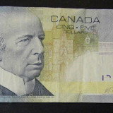 Bancnota Straine, America de Nord, An: 2006 - Canada 5 Dolari 2006