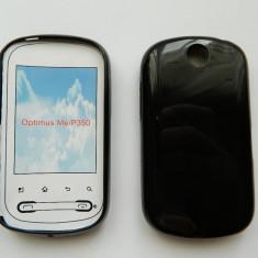Husa KSIX TPU Silicon GEL Glossy Black pt LG Optimus ME P350 - Husa Telefon White Diamonds